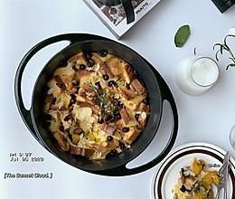 南瓜吐司布丁|低脂早餐的做法