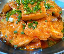 香煎豆腐﹝浓郁口味,素豆腐的华丽变身﹞的做法