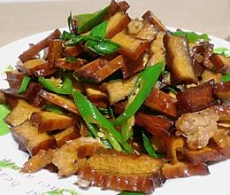 辣椒肉片炒香干的做法