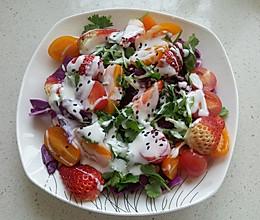 紫甘蓝酸奶沙拉的做法