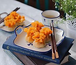 胡萝卜素烧麦的做法