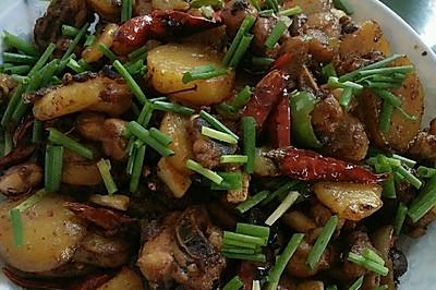 干锅土豆鸡块