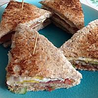 公司三明治的做法图解6