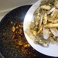 鲜味辣炒蛏子-下酒菜#单挑夏天#的做法图解9