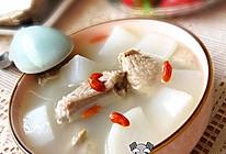 白萝卜枸杞排骨汤的做法