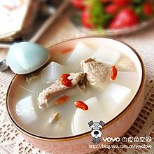 白萝卜枸杞排骨汤