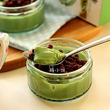 【抹茶豆乳布丁】免烤、低热量、快手