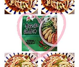 #饕餮美味视觉盛宴#辣卤拌杏鲍菇的做法