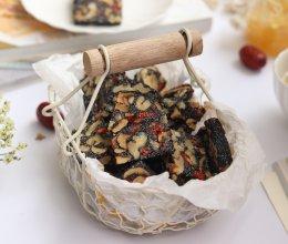 黑芝麻红枣核桃糕的做法