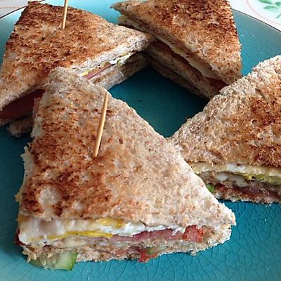 公司三明治的做法 步骤6