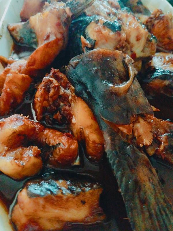 蒜香鮰鱼的做法
