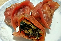 苋菜煎饺的做法