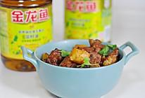 红烧土豆炖排骨#金龙鱼营养强化维生素A纯香菜籽油#的做法