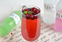 激情双莓鸡尾酒的做法