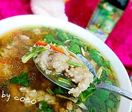 #菁选酱油试用#酸汤肉丸儿  营养开胃好味道的做法