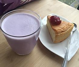 下午茶—紫薯牛奶热饮的做法