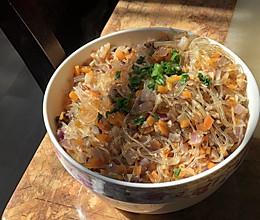 虾米粉丝煲,简单粗暴低油脂的做法