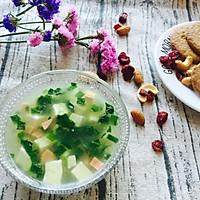 豆腐蔬菜羹#美的早安豆漿機#的做法图解10