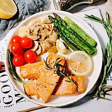 #餐桌上的春日限定#香煎三文鱼