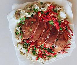 粉蒸螃蟹的做法
