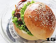 鸡腿汉堡的做法图解15