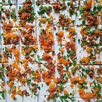 咸蛋黄肉松葱香手撕包的做法图解10