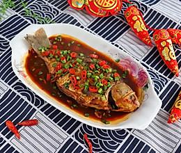 年夜饭必备家常红烧鲫鱼的做法