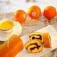 橙香蛋糕卷#美的FUN烤箱,焙有FUN儿#