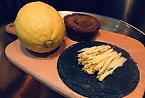 生姜黑糖柠檬饮的做法