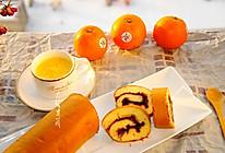 橙香蛋糕卷#美的FUN烤箱,焙有FUN儿#的做法