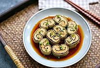 豆腐皮海苔鸡肉卷的做法