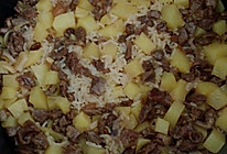 土豆牛肉(猪肉)焖饭的做法