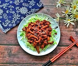 #餐桌上的春日限定#老北京人饭桌上少不了的京酱肉丝的做法