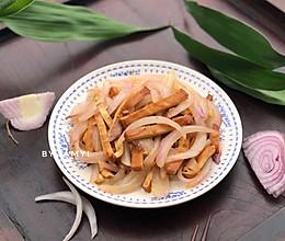 洋葱炒香干的做法