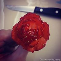 草莓玫瑰的做法图解11