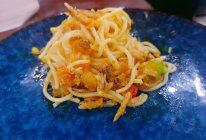 蟹黄拌面的做法