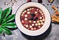 霜降|来一碗暖心红豆薏米莲子糯米丸子吧 #洗手作羹汤#的做法