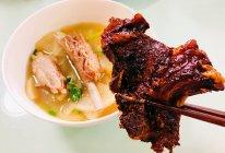 羊排两吃—羊蝎子+肋排萝卜汤的做法