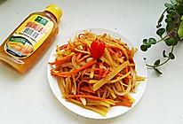 胡萝卜炒土豆#太太乐鲜鸡汁中式#的做法