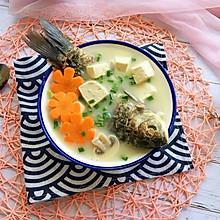 #父亲节,给老爸做道菜#鲫鱼豆腐汤