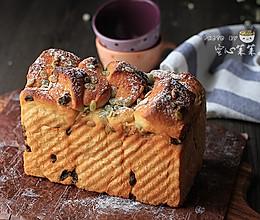 【日式炼乳吐司】——传说中那款好吃到爆表的面包#松下烤箱#的做法