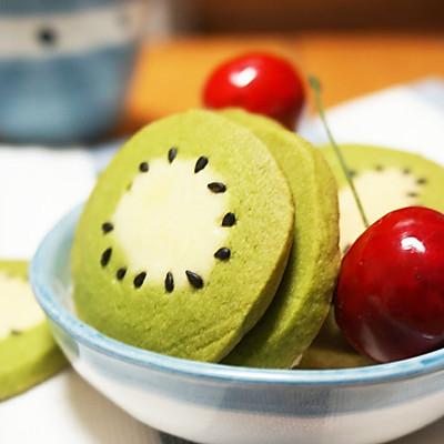 栩栩如生的猕猴桃小饼干