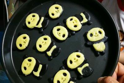可爱哒熊猫饼干