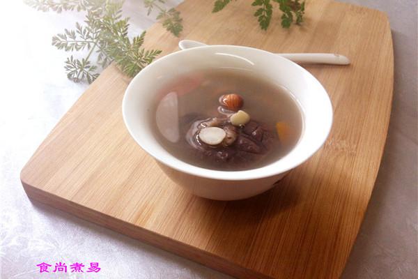 南北杏橄榄猪肺汤的做法