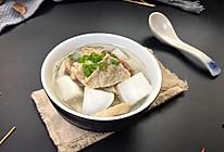 白萝卜猪肺汤#柏翠辅食节-健康食疗#的做法