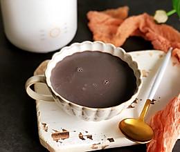 养生黑芝麻豆浆的做法