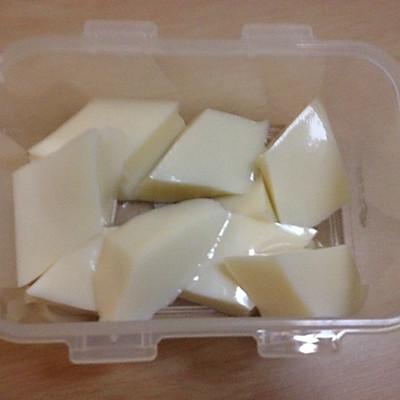 椰蓉牛奶椰汁糕