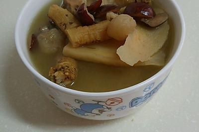 補氣養血湯(黨心,淮山,紅棗,桂圓)
