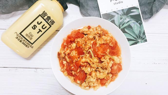 快手番茄炒蛋#植物蛋+美味尝鲜记#