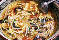 减脂番茄杂蔬汤,懒人快手汤的做法
